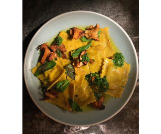 Vegan Wild Mushroom & Caramelised Onion Ravioli (6 servings)