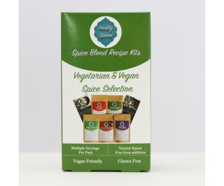 Vegetarian & Vegan Spice Selection Gift Box