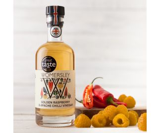 Womersley Golden Raspberry & Apache Chilli Vinegar