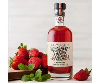 Womersley Strawberry & Mint Vinegar