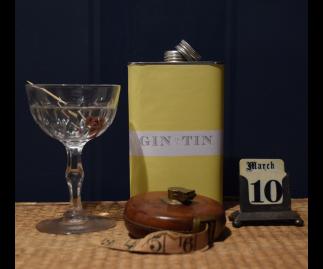 ELDERFLOWER, CHAMOMILE & MARIGOLD, GIN NO.5 – 50CL TIN