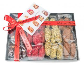 Biscottlicious 400g Mixed Gift Box
