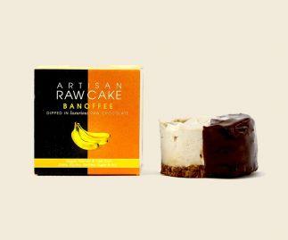 6 x Banoffee Raw Cake | Dipped in Raw Chocolate