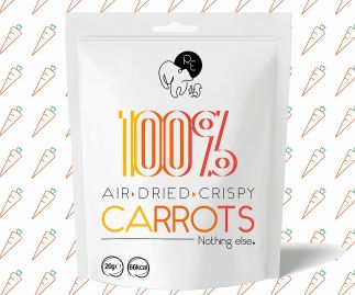 100% Air Dried Carrots