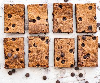 Chocolate Chip Brownies Box of 8