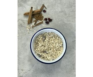 Cinnamon Bark & Cranberry Porridge