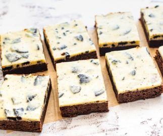 Cookie & Cream Brownies Box of 8