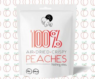 100% Air Dried Peaches