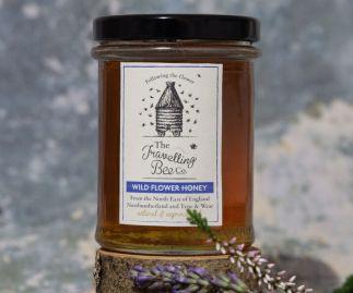 Wild Flower Honey, Two Jars