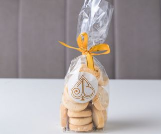 Lime Shortbread Biscuits Gift Bag