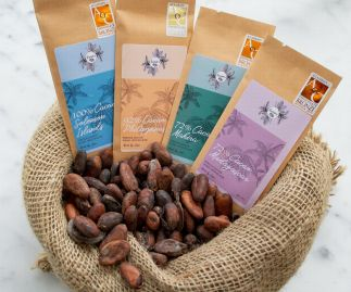 Award-Winning Single Origin Dark Chocolate Bars Handcrafted & Vegan