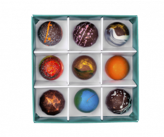 Classic Box of 9 Chocolate Bonbons