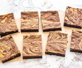 Free from Gluten Peanut Butter Brownies Box of 8