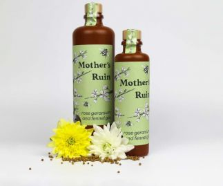 Mother's Ruin Rose Geranium and Fennel Gin