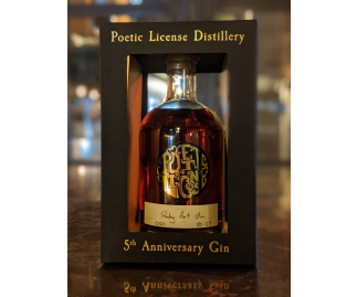 5th Anniversary Cask Aged Gin – Ruby Port
