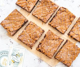 Salted Caramel Brownies Box of 8