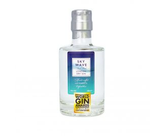 Sky Wave London Dry Gin (42% ABV) [200ml]