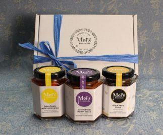 Asian Gourmet Sauces Trio Gift Set