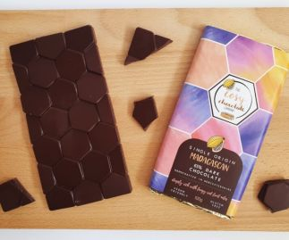 Single Origin Madagascan 65% Dark Chocolate Bar