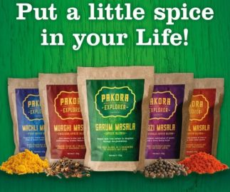 Set of 5 Homemade Spice Blends (masalas)