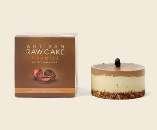 6 x Tiramisu Raw Cake | Infused with Maca