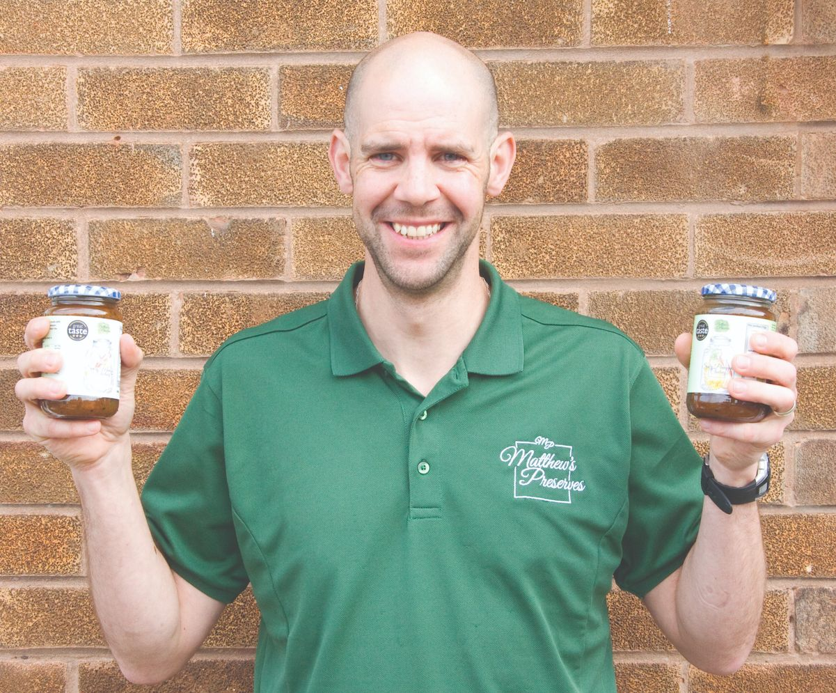 Meet 3-star Great Taste Award winner Matthew Slaughter of Matthew's Preserves