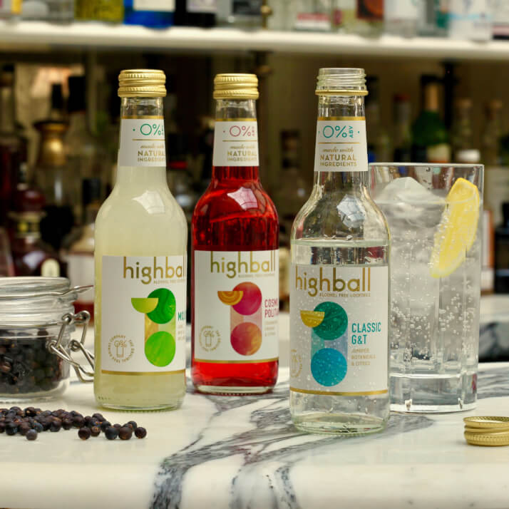 Highball Alcohol Free Cocktails
